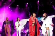 (L-R) Yo-Yo, MC Lyte, Queen Latifah and Brandy perform onstage during the 2018 Essence Festival presented By Coca-Cola - Day 2 at Louisiana Superdome on July 7, 2018 in New Orleans, Louisiana.