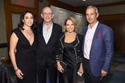 Lisa Loyd, Christopher Lloyd, Katie Couric, and John Molner attend A Funny Thing Happened On The Way To Cure Parkinson's benefitting The Michael J. Fox Foundation at the Hilton New York on November 10, 2018.