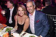 Katie Couric and John Molner attend A Funny Thing Happened On The Way To Cure Parkinson's benefitting The Michael J. Fox Foundation at the Hilton New York on November 10, 2018.