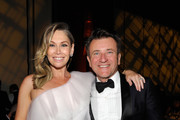 (L-R) Kym Johnson and Robert Herjavec attends the 2018 G'Day USA Black Tie Gala at InterContinental Los Angeles Downtown on January 27, 2018 in Los Angeles, California.