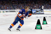 Josh Bailey #12 of the New York Islanders competes in the Enterprise NHL Fastest Skater during the 2018 GEICO NHL All-Star Skills Competition at Amalie Arena on January 27, 2018 in Tampa, Florida.