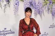 Catherine Bell attends the 2018 Hallmark Channel Summer TCA at Private Residence on July 26, 2018 in Beverly Hills, California.