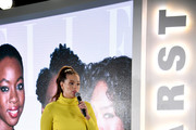 Ashley Graham speaks onstage during the 2018 Hearst MagFront on October 17, 2018 in New York City.