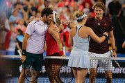Angelique Kerber and Belinda Bencic Photos Photo