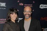 Sareen Hairabedian (L) and Jeffrey Wright of 'We Are Not Done Yet' attend the 2018 IDA Documentary Awards on December 8, 2018 in Los Angeles, California.