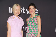 Nicola Glass (L) and Leandra Medine attend the 2018 InStyle Awards at The Getty Center on October 22, 2018 in Los Angeles, California.