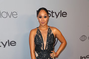 Actor Tamera Mowry attends the 2018 InStyle and Warner Bros. 75th Annual Golden Globe Awards Post-Party at The Beverly Hilton Hotel on January 7, 2018 in Beverly Hills, California.
