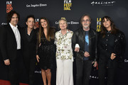 "Andrew Slater, Jakob Dylan, Jade Castrinos,Michelle Phillips, Jackson Browne, Cat Power attend the 2018 LA Film Festival - Opening Night Premiere Of ""Echo In The Canyon"" at John Anson Ford Amphitheatre on September 20, 2018 in Hollywood, California."