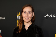 """Jennifer Cochis attends the 2018 LA Film Festival opening night premiere of """"Echo In The Canyon"""" at John Anson Ford Amphitheatre on September 20, 2018 in Hollywood, California."""