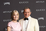 Willow Bay and Bob Iger attend the 2018 LACMA Art + Film Gala at LACMA on November 03, 2018 in Los Angeles, California.