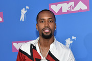 Safaree Samuels attends the 2018 MTV Video Music Awards at Radio City Music Hall on August 20, 2018 in New York City.