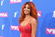 Jillian Hervey of Lion Babe attends the 2018 MTV Video Music Awards at Radio City Music Hall on August 20, 2018 in New York City.