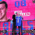 Roger Goodell Josh Allen Photos - Josh Allen of Wyoming poses with NFL Commissioner Roger Goodell after being picked #7 overall by the Buffalo Bills during the first round of the 2018 NFL Draft at AT&T Stadium on April 26, 2018 in Arlington, Texas. - 2018 NFL Draft