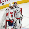 Brooks Orpik and Braden Holtby Photos