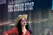 Nikki Lane performs onstage during 2018 Stagecoach California's Country Music Festival at the Empire Polo Field on April 27, 2018 in Indio, California.