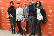 "(L-R) Priyanka Chopra, Silas Howard, Leo James Davis, Claire Danes, and Amy Landecker attends the ""A Kid Like Jake"" Premiere during the 2018 Sundance Film Festival  at Eccles Center Theatre on January 23, 2018 in Park City, Utah."