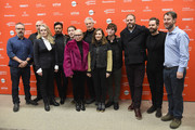 """The cast and crew of 'Puzzle' attend the """"Puzzle"""" Premiere at Eccles Center Theatre during the 2018 Sundance Film Festival on January 23, 2018 in Park City, Utah."""