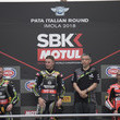 Marco Melandri and Tom Sykes Photos