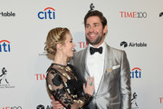 Actors Emily Blunt and John Krasinski attend the 2018 Time 100 Gala at Jazz at Lincoln Center on April 24, 2018 in New York City.