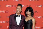 Actor Lena Waithe and Alana Mayo attend the 2018 Time 100 Gala at Jazz at Lincoln Center on April 24, 2018 in New York City.