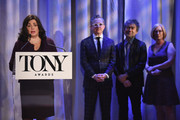 Charlotte St. Martin speaks onstage during the 2018 Tony Awards Nominations Announcement at The New York Public Library for the Performing Arts on May 1, 2018 in New York City.