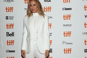 "Maria Bello attends the ""Giant Little Ones"" premiere during 2018 Toronto International Film Festival at The Elgin on September 9, 2018 in Toronto, Canada."