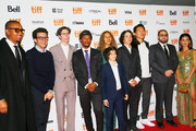 "(L-R) Mikey Alfred, Eli Bush, Ryder McLaughlin, Na-kel Smith, Olan Prenatt, Sunny Suljic, Gio Galicia,  Ken Kao, Jonah Hill and Alexa Demie attend the ""Mid90s"" premiere during 2018 Toronto International Film Festival at Ryerson Theatre on September 9, 2018 in Toronto, Canada."