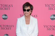 Kris Jenner attends the 2018 Victoria's Secret Fashion Show at Pier 94 on November 8, 2018 in New York City.