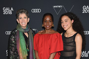 (L-R) Beth Rudin DeWoody, Lorna Simpson and Zora Casebere attend the 2018 Whitney Gala Sponsored By Audi on May 22, 2018 at Whitney Museum of American Art in New York City.