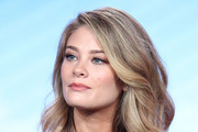 Actress Kim Matula of the television show LA To Vegas speaks onstage during the FOX portion of the 2018 Winter Television Critics Association Press Tour at The Langham Huntington, Pasadena on January 4, 2018 in Pasadena, California.