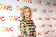 Co-Founder Jane Fonda attends the 2018 Women's Media Awards at Capitale on November 1, 2018 in New York City.
