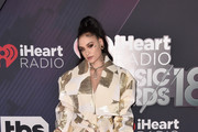 Kehlani arrives at the 2018 iHeartRadio Music Awards which broadcasted live on TBS, TNT, and truTV at The Forum on March 11, 2018 in Inglewood, California.