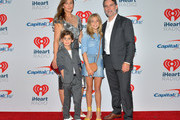 Ingrid Vandebosch and Jeff Gordon arrive at the iHeartRadio Music Festival at T-Mobile Arena on September 22, 2018 in Las Vegas, Nevada.