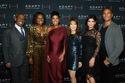 Al Roker, Deborah Roberts, Tamron Hall, Susan Lucci, Tamsen Fadal and Mike Woods attend the 2019 2nd Annual ADAPT Leadership Awards at Cipriani 42nd Street on March 14, 2019 in New York City.