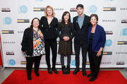 "(L-R) AFF co-founder Melissa Silverstein, producer Sarah Olson, director Rachel Lears, producer and editor Robin Blotnick and AFF co-founder Kathryn Kolbert attend the 2019 Athena Film Festival closing night film, ""Knock Down the House"" at the Diana Center at Barnard College on March 3, 2019 in New York City."