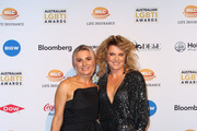 Lucy Lawless and Danielle Cormack attend the 2019 Australian LGBTI Awards at The Star on March 01, 2019 in Sydney, Australia.