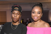 Lena Waithe and Jemele Hill attend Genius Talks Sponsored By Credit Karma during the BET Experience at the Los Angeles Convention Center on June 22, 2019 in Los Angeles, California.