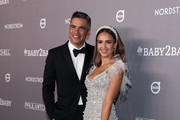Cash Warren and Jessica Alba attend the 2019 Baby2Baby Gala presented by Paul Mitchell on November 09, 2019 in Los Angeles, California.
