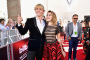 (L-R) Ross Lynch and Kiernan Shipka attends the 2019 Billboard Music Awards at MGM Grand Garden Arena on May 1, 2019 in Las Vegas, Nevada.