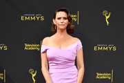 Amy Landecker attends the 2019 Creative Arts Emmy Awards on September 15, 2019 in Los Angeles, California.
