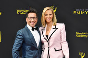 Dan Bucatinsky and Lisa Kudrow attend the 2019 Creative Arts Emmy Awards on September 14, 2019 in Los Angeles, California.