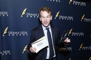 """Mike Birbiglia, winner of Outstanding Solo Performance for """"The New One"""", attends 2019 Drama Desk Awards at HB Burger on June 2, 2019 in New York City."""