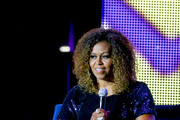 Michelle Obama speaks onstage during the 2019 ESSENCE Festival Presented By Coca-Cola at Louisiana Superdome on July 06, 2019 in New Orleans, Louisiana.