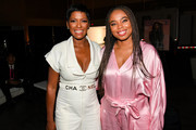 Tamron Hall and Jemele Hill attend 2019 ESSENCE Festival Presented By Coca-Cola at Ernest N. Morial Convention Center on July 05, 2019 in New Orleans, Louisiana.