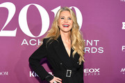 Christie Brinkley attends 2019 FN Achievement Awards at IAC Building on December 03, 2019 in New York City.