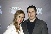 NEW YORK, NY  MAY 13: Maggie Lawson and Jason Biggs attend the 2019 FOX Upfront at Wollman Rink, Central Park on May 13, 2019 in New York City.
