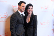 Keith Lieberthal and Julianna Margulies attend A Funny Thing Happened On The Way To Cure Parkinson's benefitting The Michael J. Fox Foundation on November 16, 2019 in New York City.