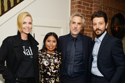 Charlize Theron and Yalitza Aparicio Photos Photo