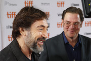 Javier Bardem and Alvaro Longoria Photos Photo