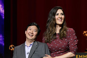 Ken Jeong and D'Arcy Carden Photos Photo
